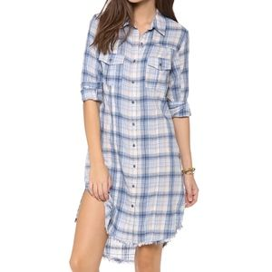 FREE PEOPLE Eight Days a Week Plaid Dress- XS